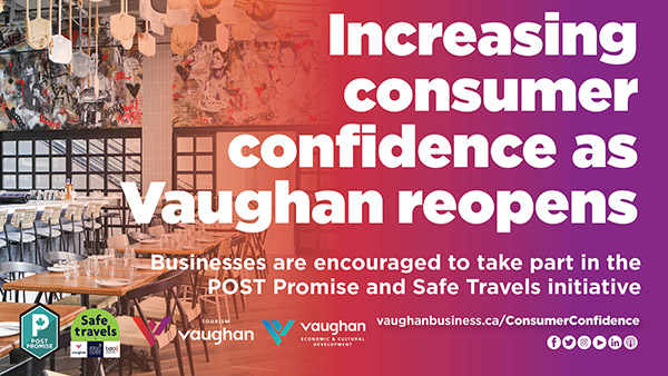 Increasing consumer confidence as Vaughan reopens